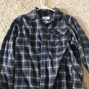 Men's Columbia flannel